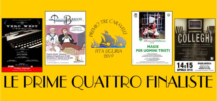 Premio Tre Caravelle 2019: Le prime quattro finaliste