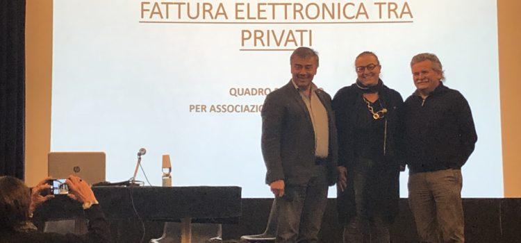 Fatturazione elettronica e non solo: cosa è stato detto ad Alessandria all'assemblea interregionale del 12 gennaio 2019