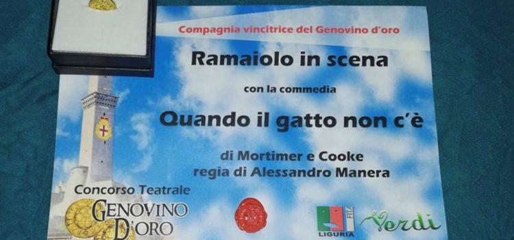 """Genovino d'oro 2018/2019: Vince la compagnia """"Ramaiolo in Scena"""" di Imperia"""