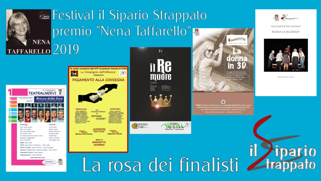 """Festival Regionale """"Teatro Il sipario Strappato"""" – Premio"""
