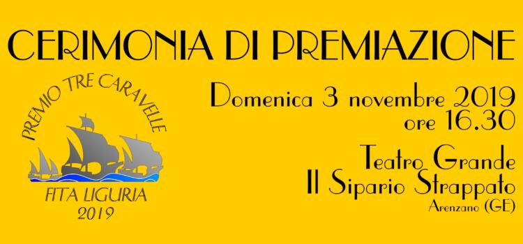"""Premio Fita Liguria """"Tre Caravelle"""" 2019: domenica 3 novembre la cerimonia di premiazione"""