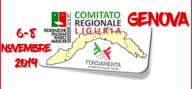 """Progetto """"Fondamenta"""" in Liguria: dal 6 all'8 novembre  tappa speciale del workshop gratuito sull'uso del teatro nel sociale"""