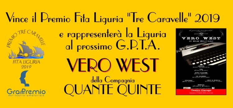"""La Compagnia Quante Quinte vince il Premio FITA Liguria """"Tre Caravelle"""" 2019"""